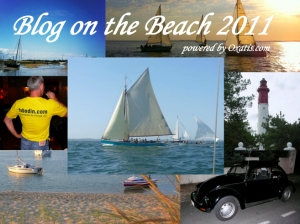 Blog on the beach 2011